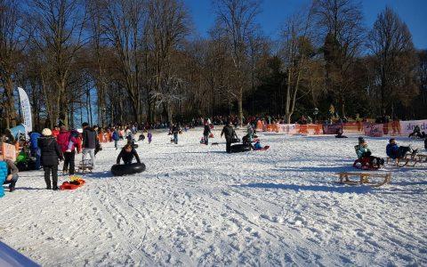 Schneekanone für Rodel-Events